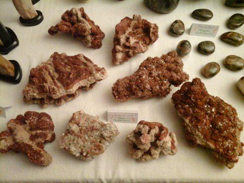 aragonites cristallisées gilbert piednoir